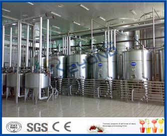 Yogur industrial que hace la máquina