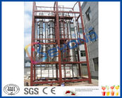 SUS304 Industrial Multiple Evaporator System , Falling Film Multi Effect Evaporators