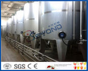 High Capacity Industrial Yogurt Making Machine For Yogurt Manufacturing Process
