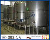 1000 - 100000LPH Ultra High Temperature UHT Milk Processing Line With Aseptic Package