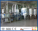 Milk And Milk Products Processing Dairy Plant Machinery , Milk Dairy Equipments