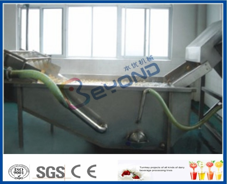 Surfing Type Fruit And Vegetable Washer Machine / Fruit And Vegetable Cleaning Machine