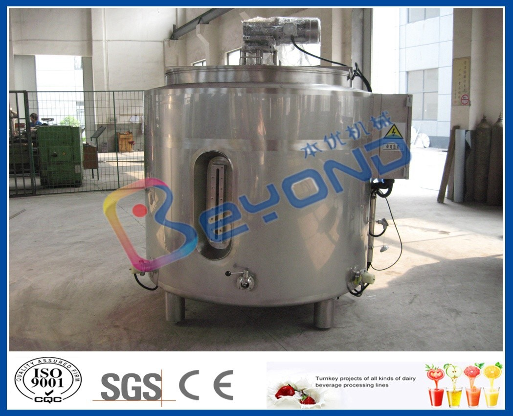 Stainless Steel Chocolate Melting Equipment / Electric Heater Tank 100L - 2000L Volume