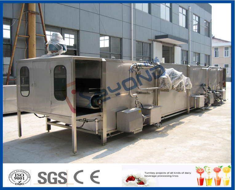 5000LPH Soft Drink Production Line For Soft Drink Manufacturing Process