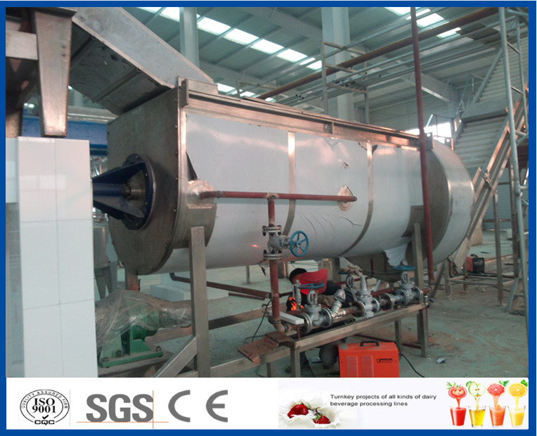 Orange / Mango Juice Processing Industrial Fruit Juicer Machines , Juice Production Line