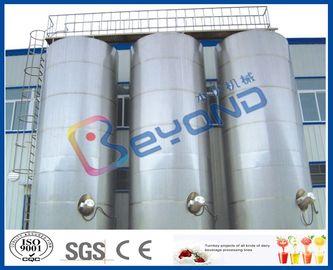 Equipo de lechería al aire libre grande del acero inoxidable de los tanques de almacenamiento del acero inoxidable/SUS304 SUS316
