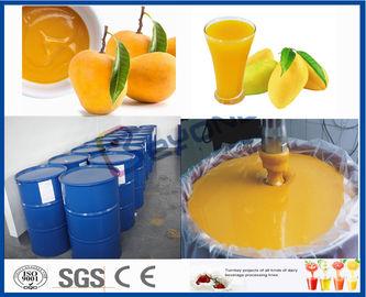 Línea de transformación del mango de la máquina del procesador de la fruta para la planta de tratamiento del jugo