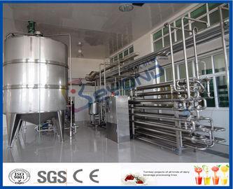 Equipo aséptico de la pasterización de la leche del procedimiento para la planta de tratamiento de la leche